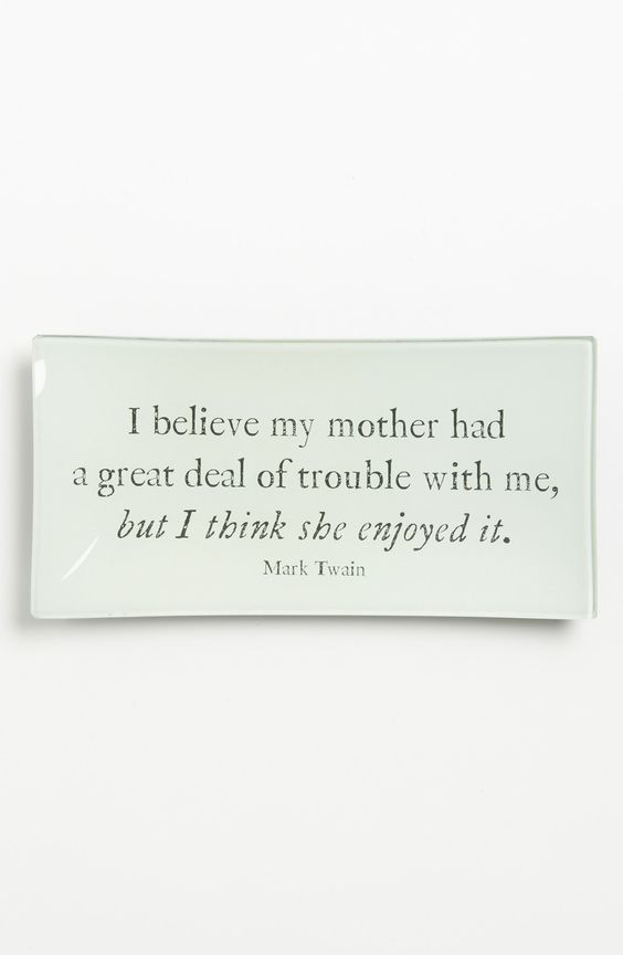 Ben's Garden ~ 'I Believe My Mother' Glass Decoupage Trinket Tray ~