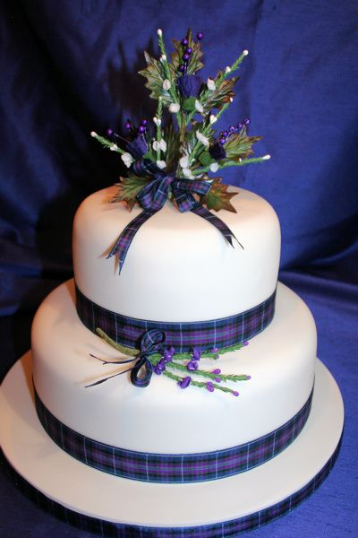 Tartan and thistles? Just a thought!