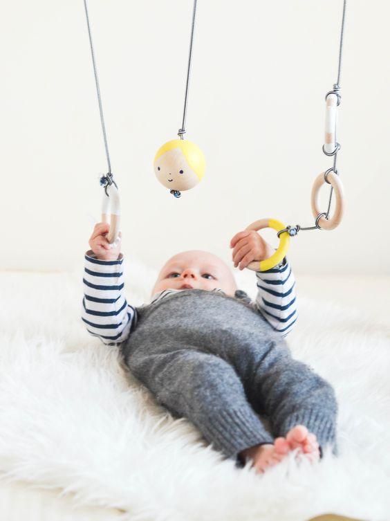 Ach Quatsch: Ein Baby-Spielbogen in schön | wasfürmich