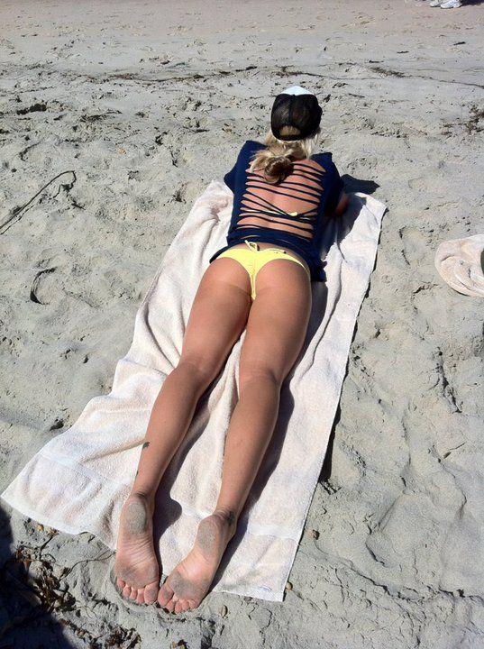 #cheeky on the beach