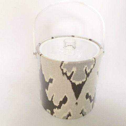 Ice Buket with Kelly Wearstler fabric