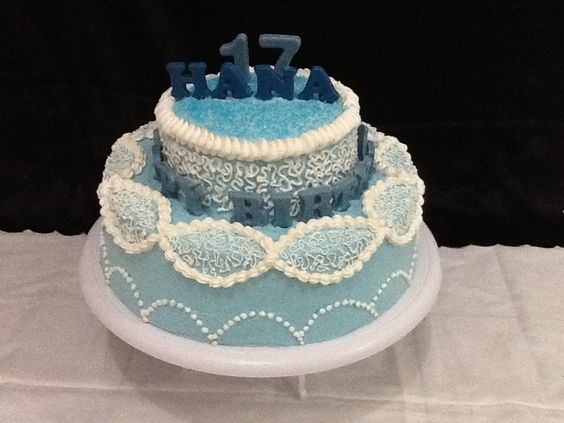 17th Birthday Cakes #by SM Cookies and Cakes | My ...