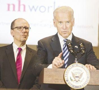 U.S. labor secretary touts NH jobs program as model for nation   New Hampshire Business
