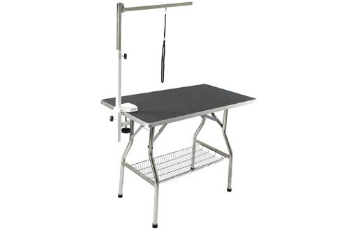 Top 10 Best Portable Dog Grooming Tables With Adjustable Arm In