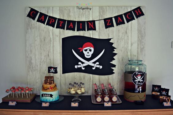 organiser un anniversaire pirate pour enfant avec printables tuto pour g teau dress code. Black Bedroom Furniture Sets. Home Design Ideas