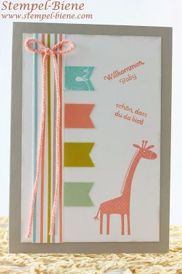Zoo Babies; kids card design