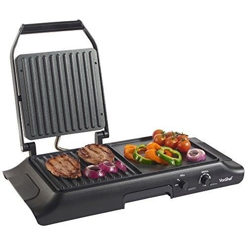 Electric Grill Griddle Sandwich Maker Panini Press Toaster Grilling Plate Indoor