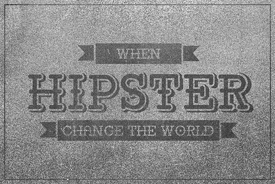 Retro Pop Typeface by Hasrullah ullah, via Behance