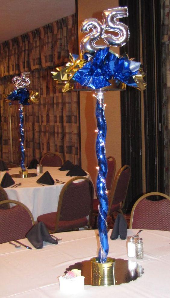 Table Decoration Ideas For Class Reunion