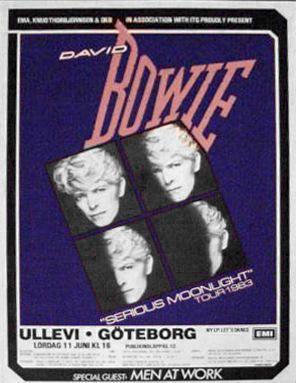 #DavidBowie #Ullevi #Gothenburg #1983
