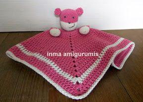 mantita oso para bebé