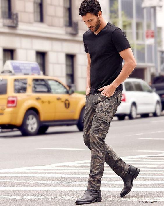 Male Fashion Photoshoot Simple Candid