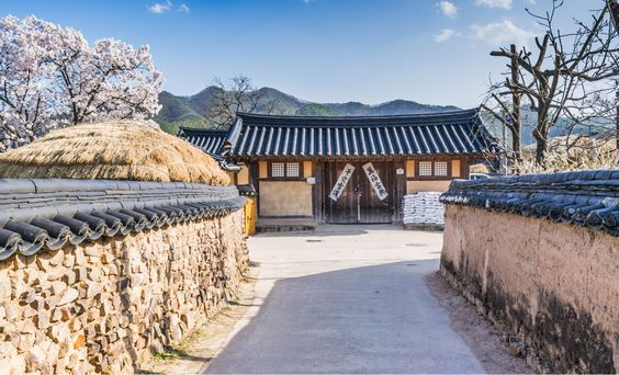 Hahoe, village traditionnel de Corée du Sud