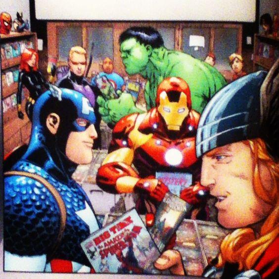 The Avengers comprando