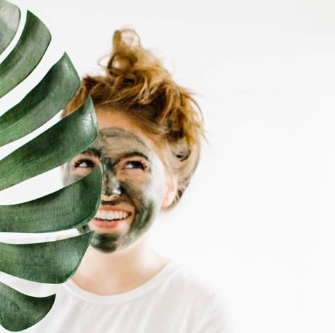A Spirulina face mask for that natural glow