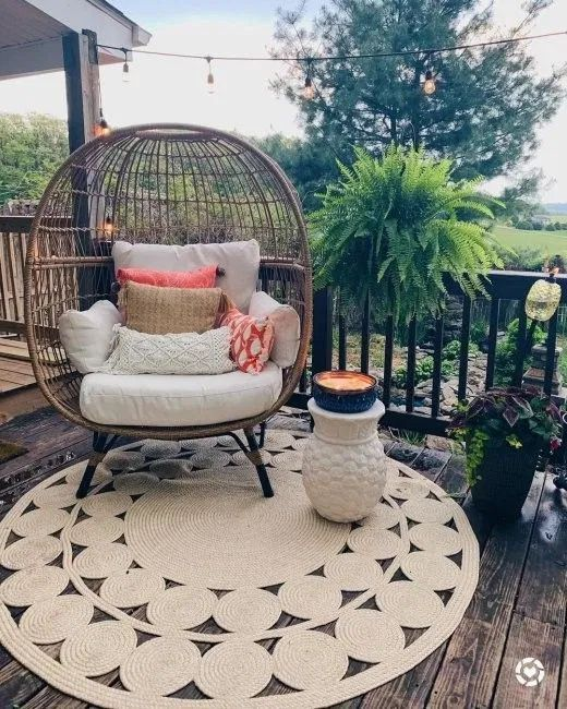72 Design Tips And Ideas To Level Up Your Outdoor Space Cozy Home 101 In 2020 Small Balcony Decor Balcony Decor Boho Living Room