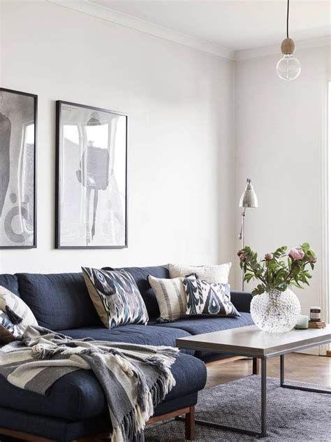 Living Room With Blue Sofa Pinterest Homedecor Homedecorideas Blue Couch Living Room Blue Sofas Living Room Blue Sofa Living