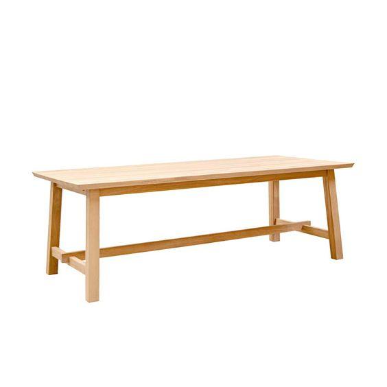 Esstisch aus Eiche Massivholz mit Auszug holztisch,massivholztisch - küchen dänisches bettenlager