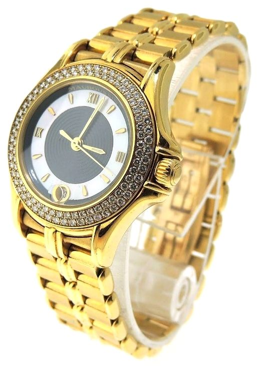 Mauboussin Ladies Diamond 18k Yellow Gold Watch