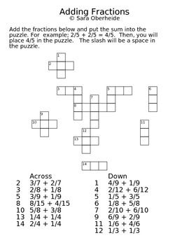 Printables Fraction Puzzle Worksheets fraction puzzle worksheets davezan fractions