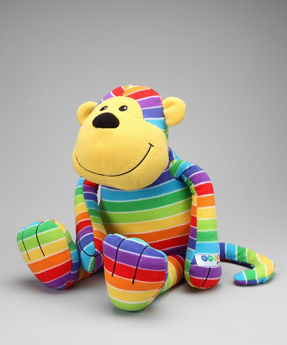 Take a look at this beeposh by Melissa & Doug Mack Monkey Plush Toy on zulily today!
