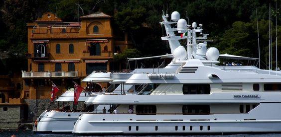 Vecchi soldi, nuovi soldi (old money, new money), Portofino