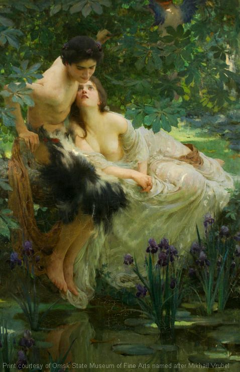 Narcissus and Echo. Solomon Joseph. England. 1895: