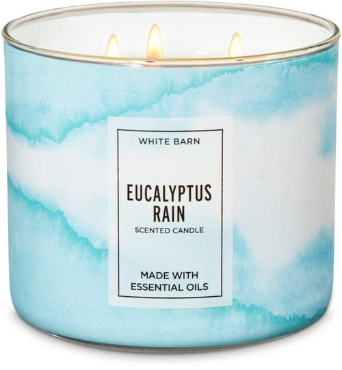 Bath /& Body Works SUN WASHED PETALS Large 3 Wick  Scented Candle 14.5 oz