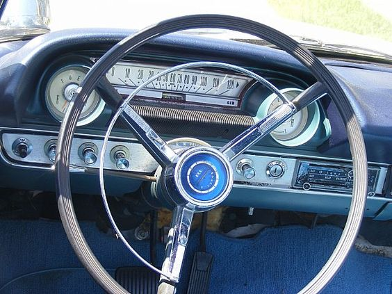 1964 Ford Galaxie 500 XL interior view.  Liked this one for a long time.