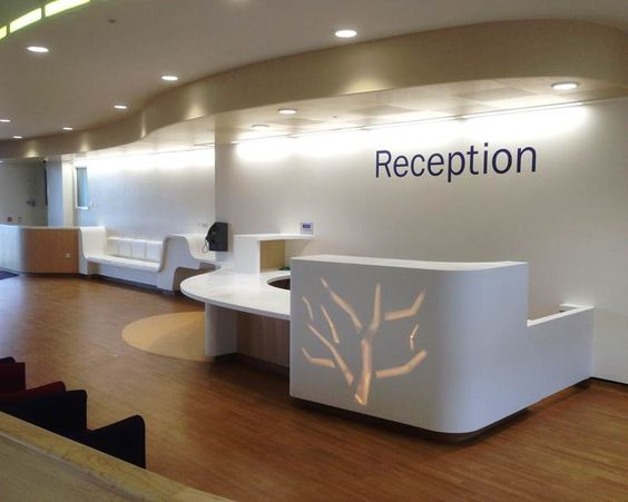 Receptions Medical And Desks On Pinterest
