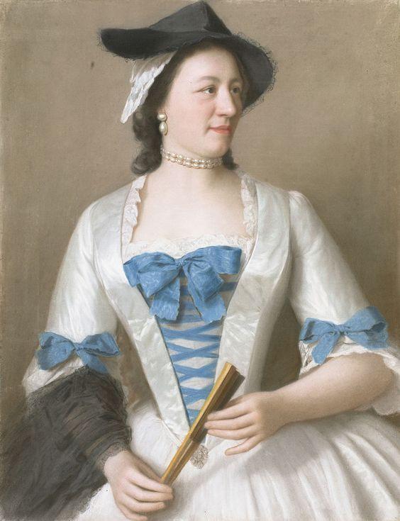 Jeanne-Elisabeth de Sellon by Jean-Étienne Liotard