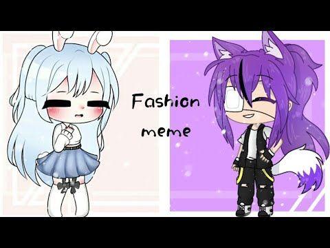 Fashionablecollabcherrie Fashion Meme Gacha Life Fake Collab With Cherrie Gacha Lazy Youtube Memes Collab Life