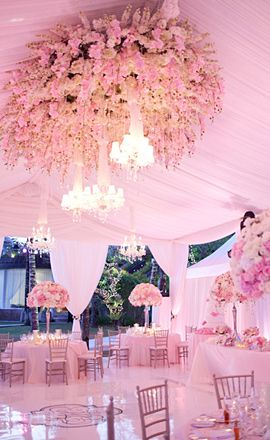 love this for anything feminine-think sweet16, bat mitzvah or a lovely soft wedding-girlie meets elegant...