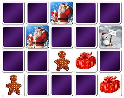 Tic memory navideño   http://www.memo-juegos.com/juegos-de-memoria-online/ninos/juego-ninos-de-8-anos/memory-de-navidad   Tambien en http://enelauladeapoyo.blogspot.com.es/2013/12/memory-navideno.html