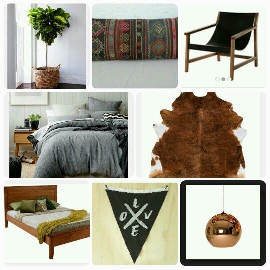 Bedroom Tribal/Danish