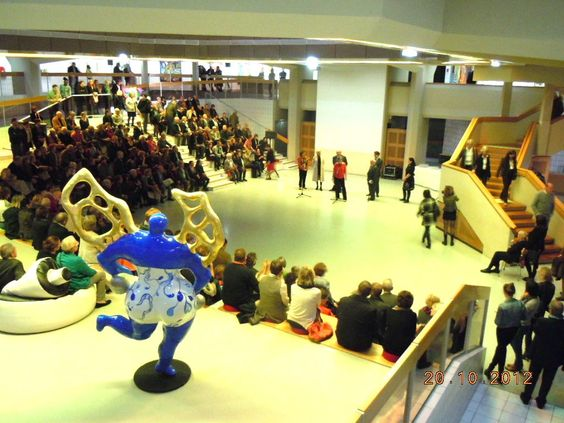 Vernissage de l'exposition COBRA, sous le regard d'un passionné - LAAC Dunkerque - octobre 2012/mars 2013