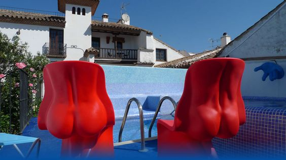 One of the hotels we'll be staying in on our road-trip of Andalucia Spain 2012 - Hotel Enfrente Arte Ronda