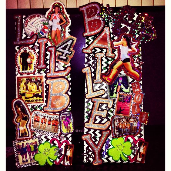 Locker Decorations, Volleyball And Gymnastics On Pinterest