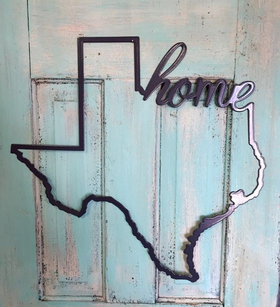 Hey, I found this really awesome Etsy listing at https://www.etsy.com/listing/236353771/metal-texas-home-sign-powder-coated