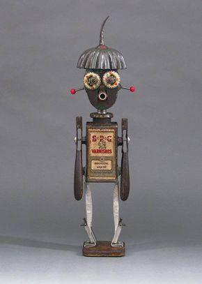 Robot Sculpture Gilroy