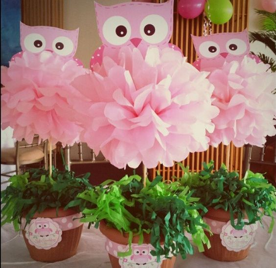 Ideas baby shower ni a pinterest - Centros de mesa para baby shower ...