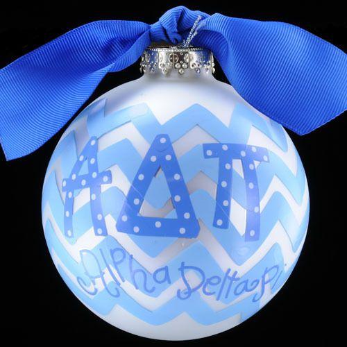 Alpha Delta Pi Ornament #CotonColors