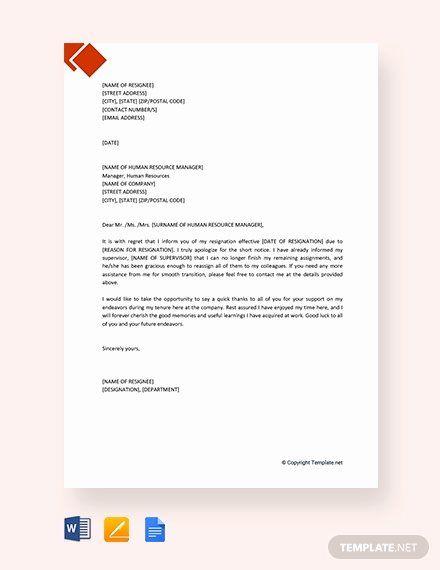 Letter Template Google Docs Beautiful 142 Free Resignation Letter Templates In Google Docs Simple Cover Letter Template Cover Letter Template Free Lettering
