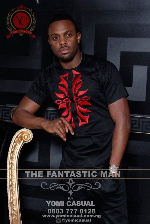 """Nigerian Fashion Lable Yomi Casual Presents It's """"Fantastic Man"""" Collection 