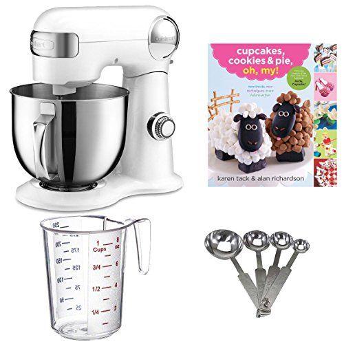 Cuisinart Precision Master 55quart Stand Mixer W Cupcake Cookbook Bundle Amazon Best Buy Standmixer Stand Mixer Kitchen Stand Mixers Cuisinart