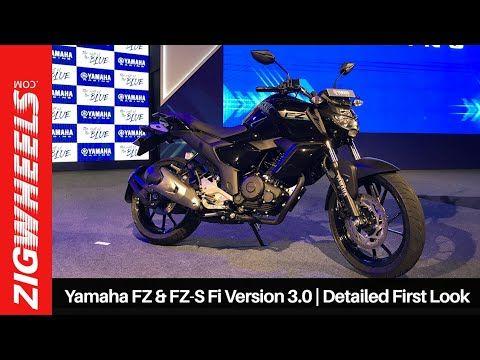 Yamaha Fz Fz S Fi Version 3 0 Detailed First Look Zigwheels