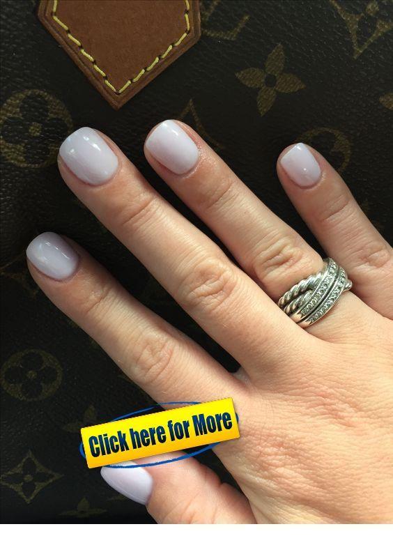 Nice Ring Idea And Very Short Nails Inspiring Ladies Gel Powder Nails Sns Nails Colors Pink Nails