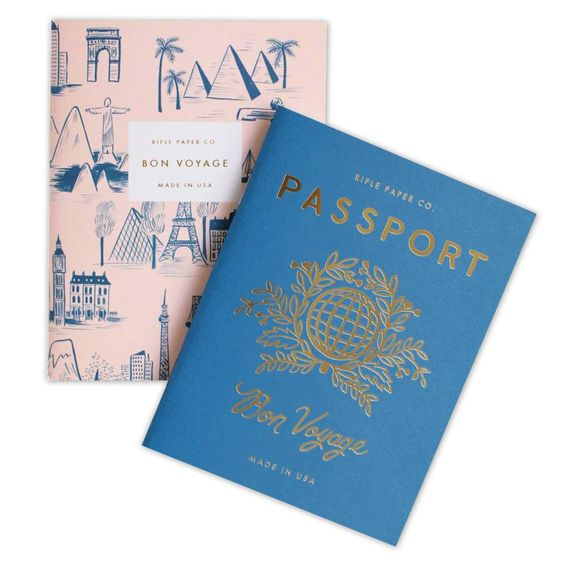 This set of Passport Pocket Notebooks are the perfect size for your backpack, tote bag or back pocket.