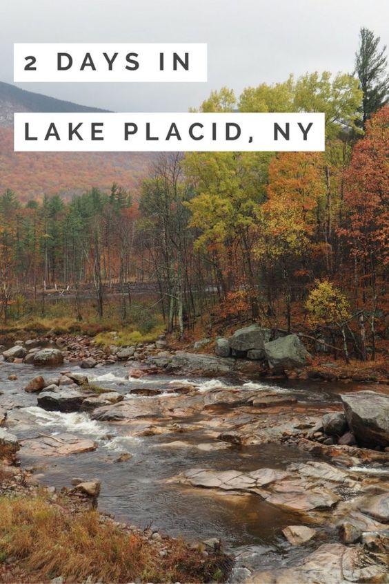 lake placid weekend