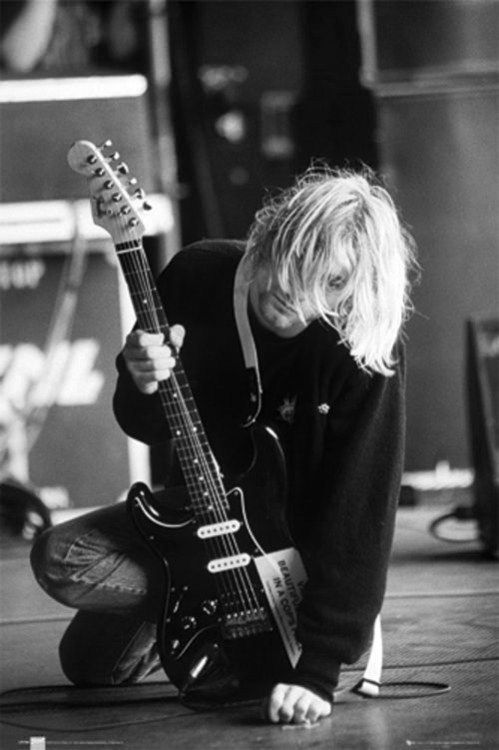 Kurt Cobain I've researched searched this as a moody teen. Got a B in English lit for the amount of leg work input into finding out the who when and why!